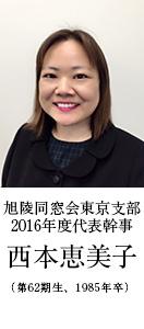 2016年度 代表幹事